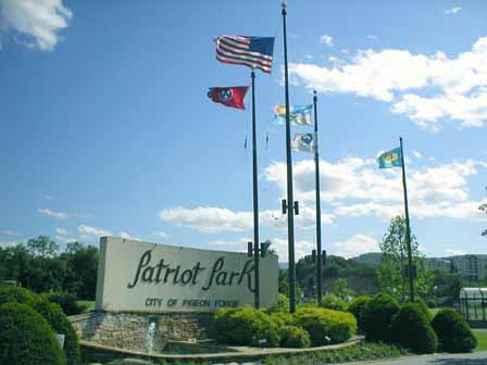 patriot park pigeon forge